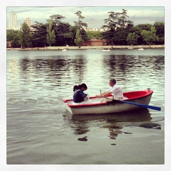 Photo taken at Lago de la Casa de Campo by jaime e. on 7/27/2013