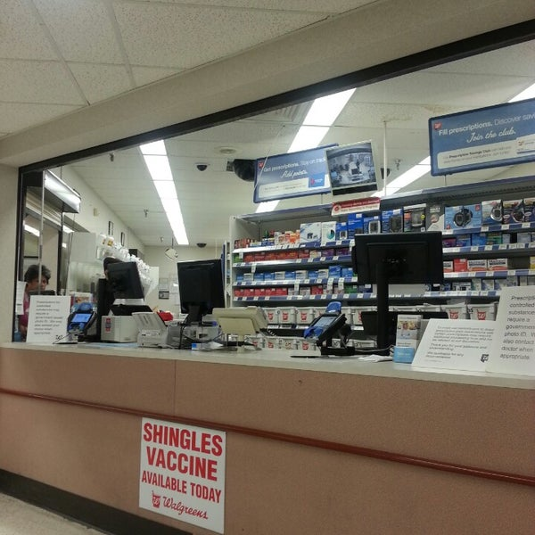 Walgreen pharmacy in San Rafael had said that my prescription would be renewed and when I got there today, they were