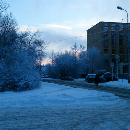 Photo taken at Пущино by Konstantin B. on 1/24/2014
