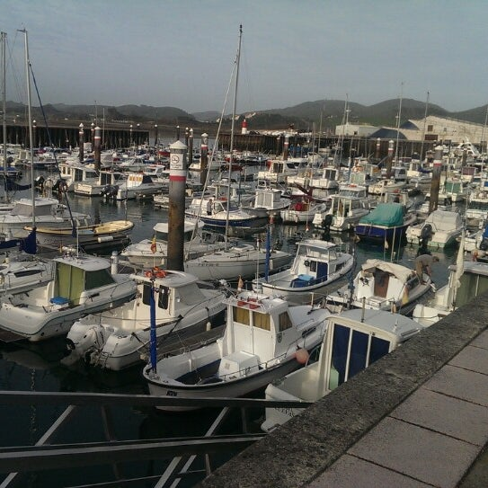 Photo taken at Santoña by Israel R. on 1/2/2014