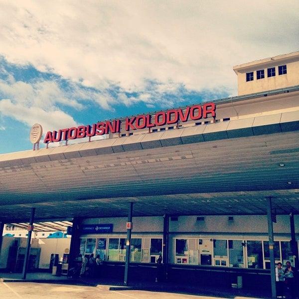 Photo taken at Autobusni Kolodvor Dubrovnik   Dubrovnik Bus Station by Jude L. on 9/22/2013