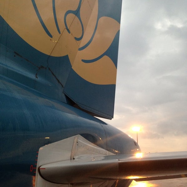 Photo taken at Tan Son Nhat International Airport (SGN) by Ted P. on 7/8/2013