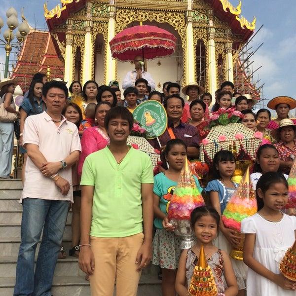 Photo taken at วัดดอนตูม บ้านโป่ง by Pornon W. on 5/4/2014