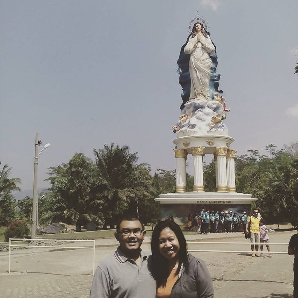 Photo taken at Gua Maria Kerep by Bayu A. on 8/23/2015
