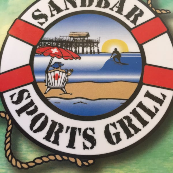 Photo taken at Sandbar Sports Grill by Ann J. on 8/23/2015