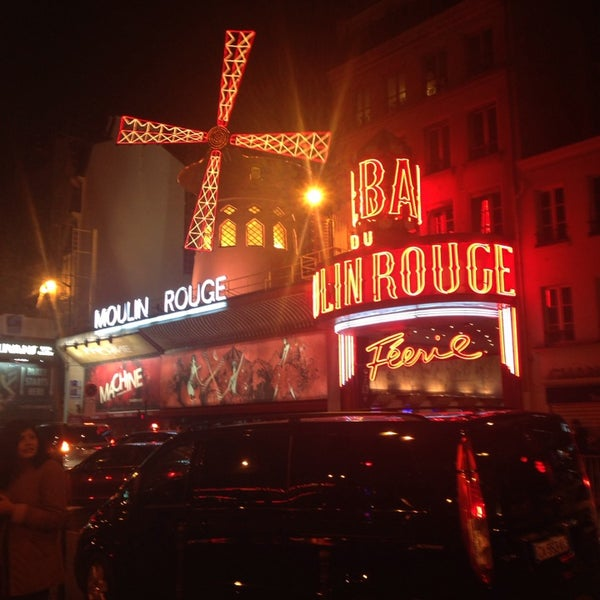 Photo taken at Moulin Rouge by Cansu D. on 3/17/2014