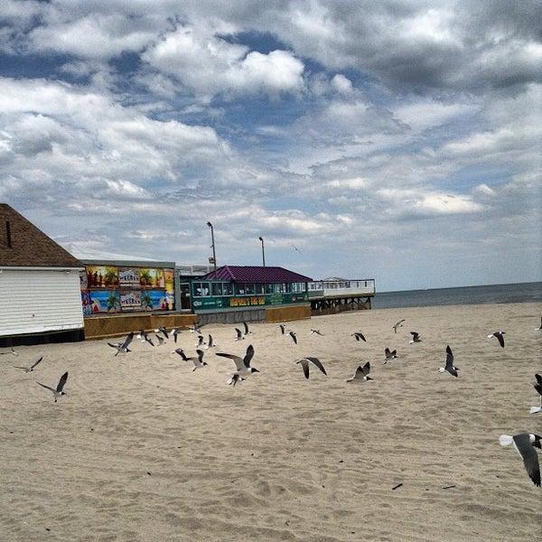 Photo taken at Point Pleasant Beach Boardwalk by Christine S. on 5/13/2013