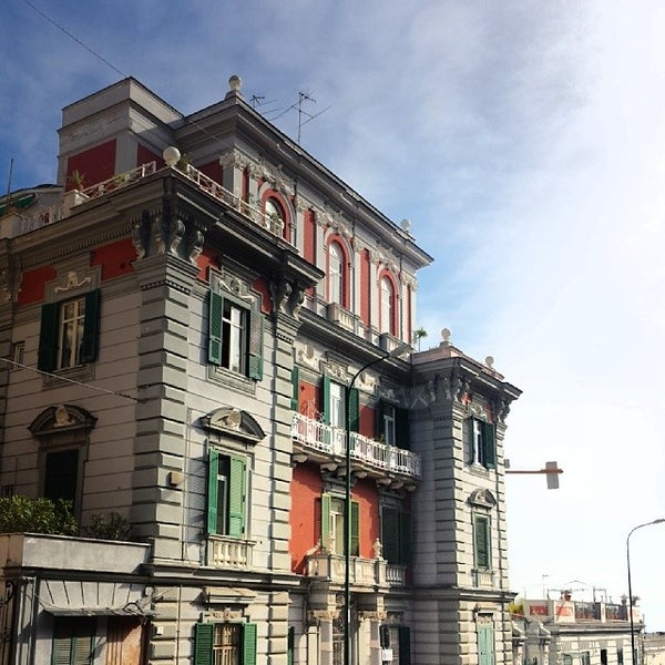 Photo taken at Largo San Martino by Antonio M. on 2/18/2014