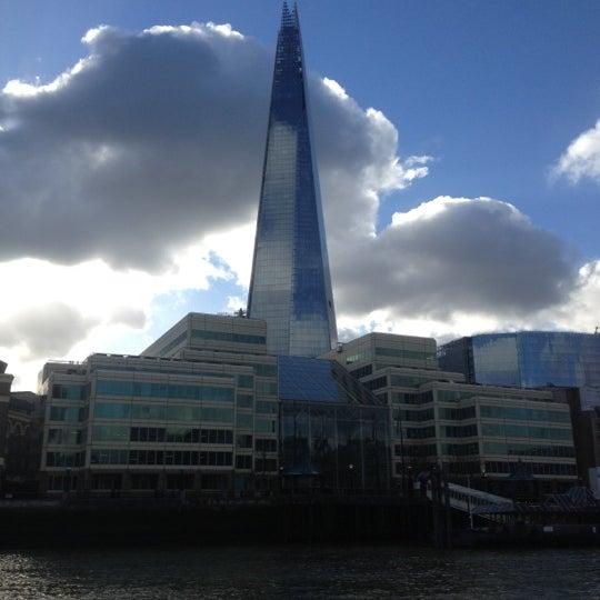 Photo taken at London Bridge by Zafer E. on 2/2/2013