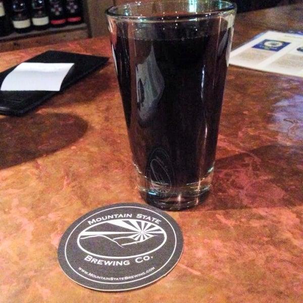 Photo taken at Mountain State Brewing Co. by John B. on 9/2/2014