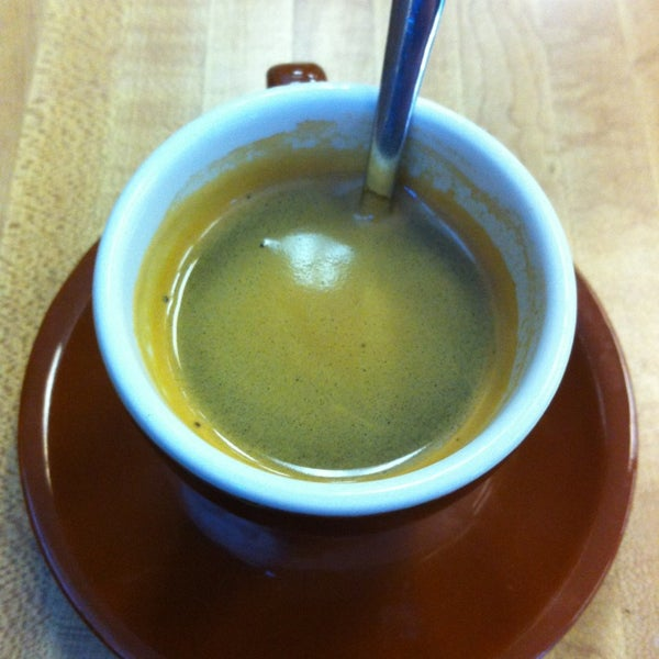 Photo taken at The Mill Coffee & Tea by jp f. on 1/18/2013