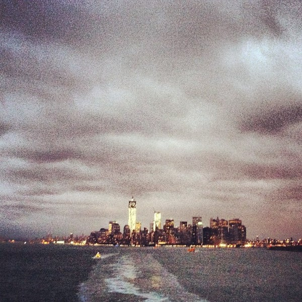Photo taken at New York Harbor by Patrick D. on 11/6/2012