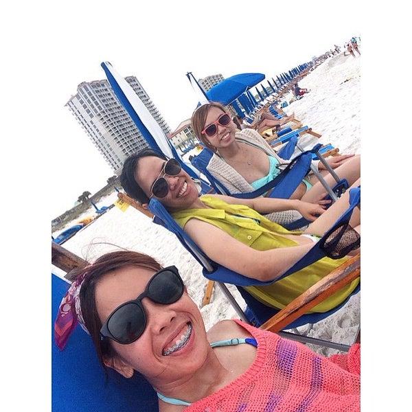 Photo taken at Hilton Pensacola Beach by Jalaine N. on 6/28/2015