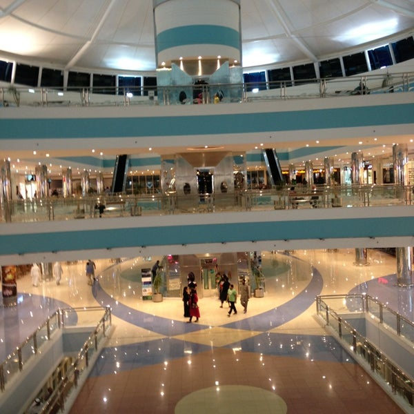 Photo taken at Mushrif Mall by Shady S. on 3/24/2013