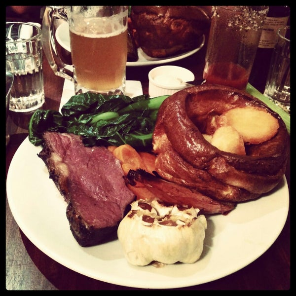 Photo taken at Hawksmoor by Agnieszka J. on 3/30/2014