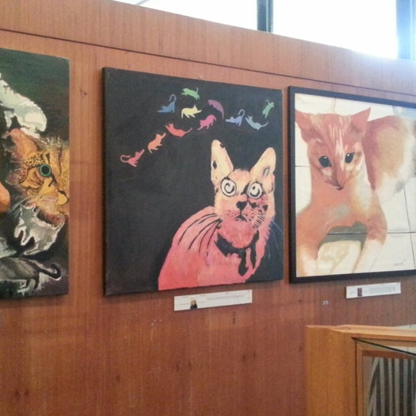 Photo taken at Cat Museum (Muzium Kucing) by shaza i. on 11/21/2014