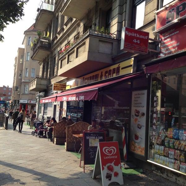 Berlin Cafe Gegend