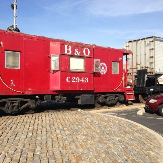 Photo taken at B & O Railroad Museum by Steven B. on 12/6/2012