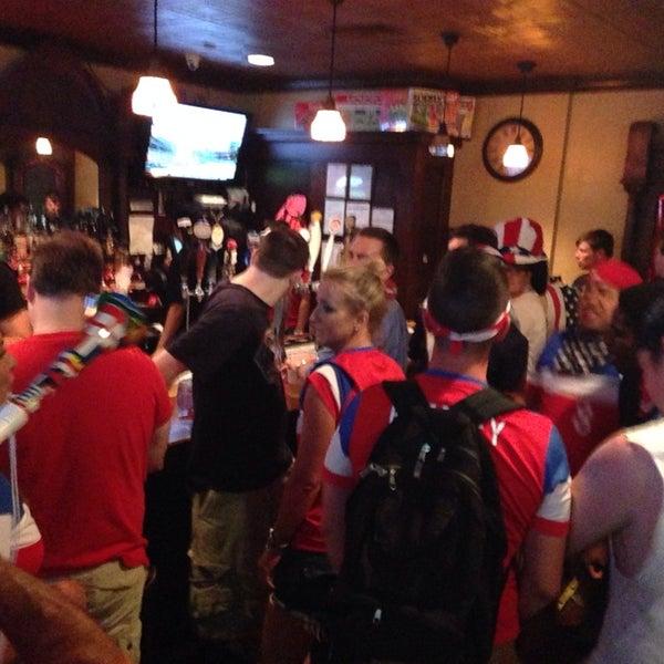 Photo taken at Laughing Man Tavern by Arya N. on 6/17/2014