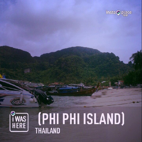 Photo taken at Phi Phi Island by Hafify Rusydi R. on 7/6/2013