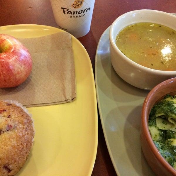 Photo taken at Panera Bread by Jenn S. on 10/15/2014