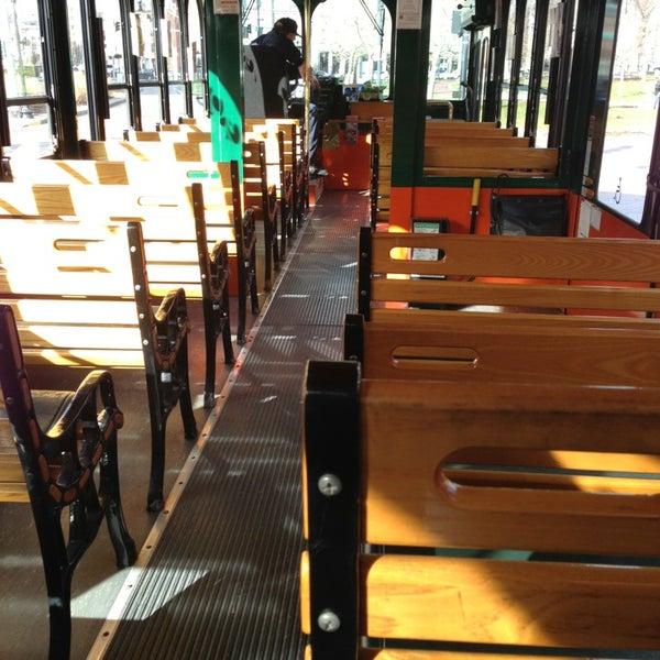 Photo taken at Old Town Trolley Tours of Boston by Steve on 12/22/2012