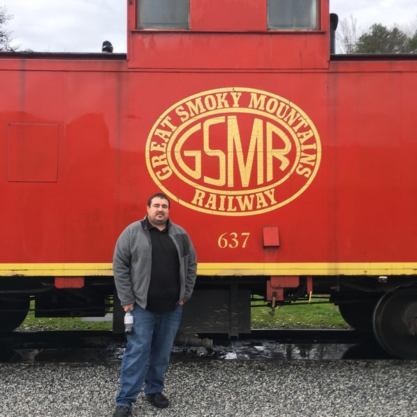 Photo taken at Great Smoky Mountain Railroad by James R. on 12/30/2015