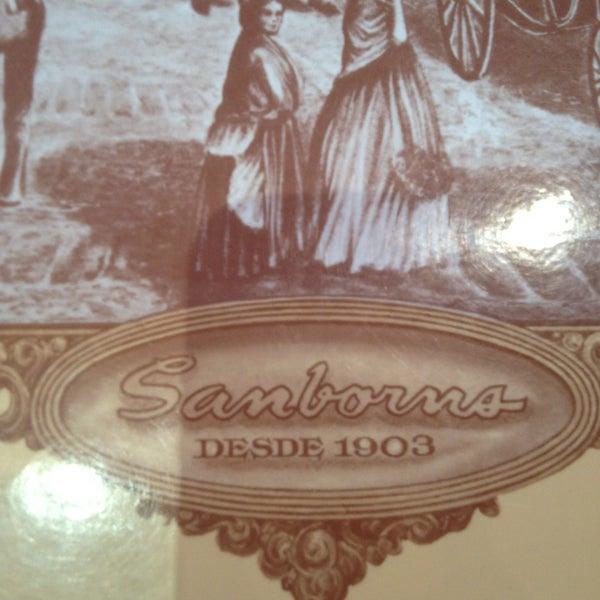 Photo taken at Sanborns by Juan H. on 2/14/2013