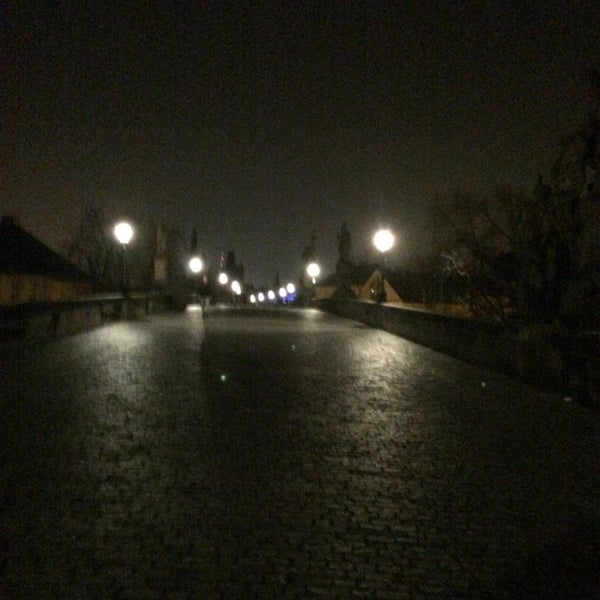 Photo taken at Karlův most | Charles Bridge by Dana H. on 3/15/2014