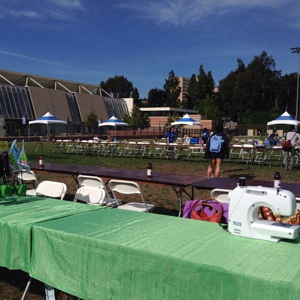 Photo taken at UCLA Intramural Field by Reena G. on 4/23/2014