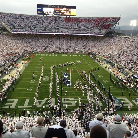 Photo taken at Beaver Stadium by Jim B. on 10/27/2012