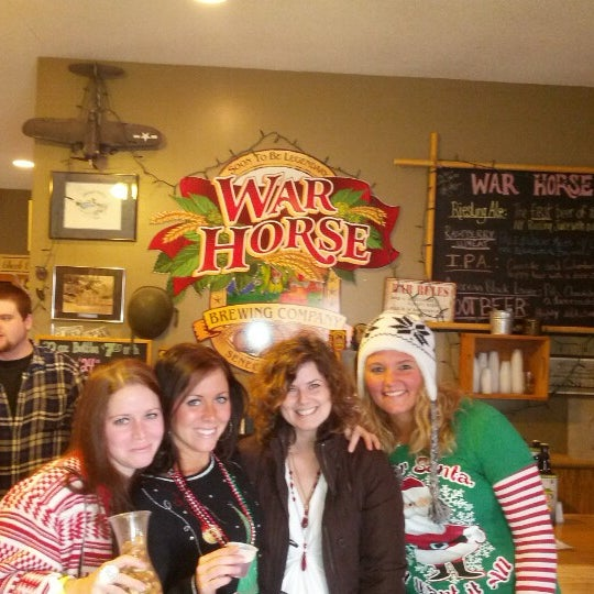 Photo taken at War Horse Brewery by Robb H. on 12/15/2012