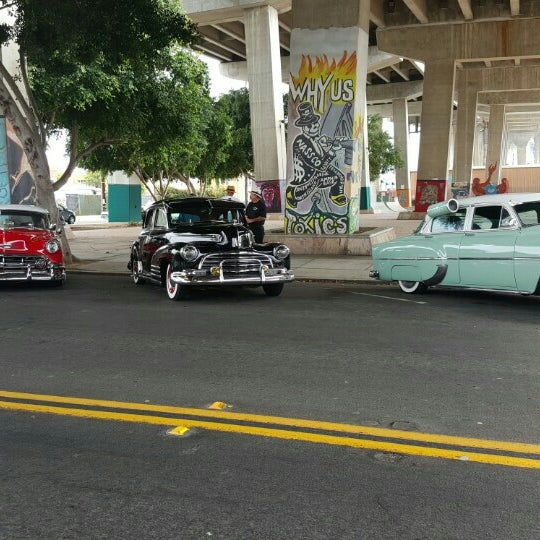 Photo taken at Chicano Park by Jason D. on 5/15/2016