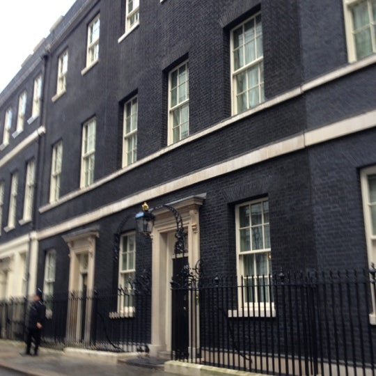 Photo taken at 10 Downing St. by Liz B. on 10/31/2012