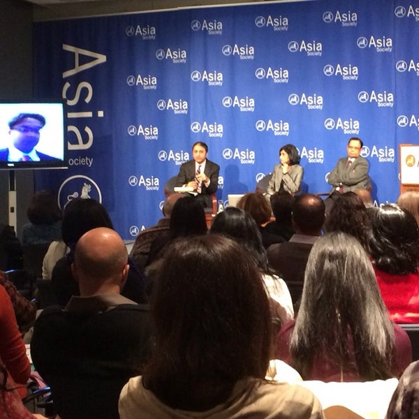 Photo taken at Asia Society New York by Dave H. on 2/5/2014