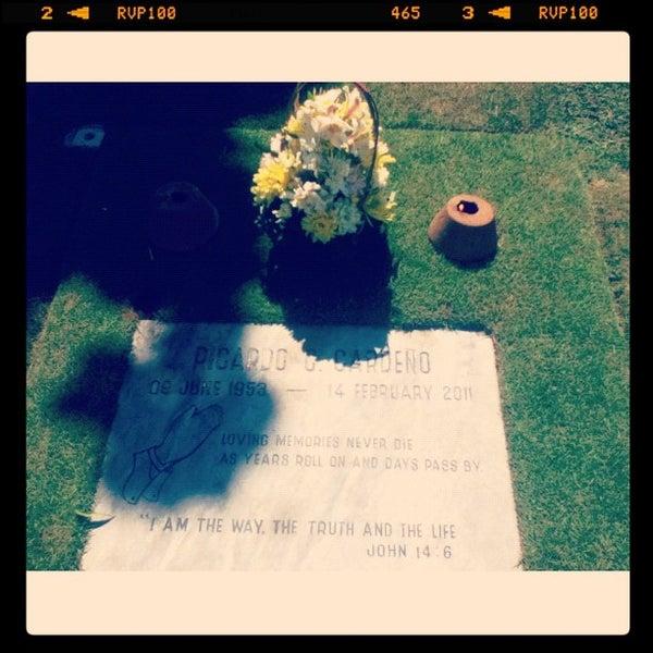 Photo taken at Manila Memorial Park by Czars N. on 6/12/2013
