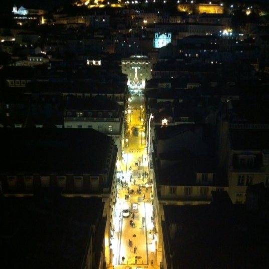 Photo taken at Elevador de Santa Justa by Serg M. on 12/10/2012