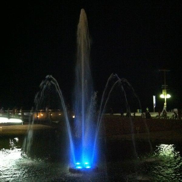 Photo taken at Platja de Calafell by Mar G. on 8/11/2013
