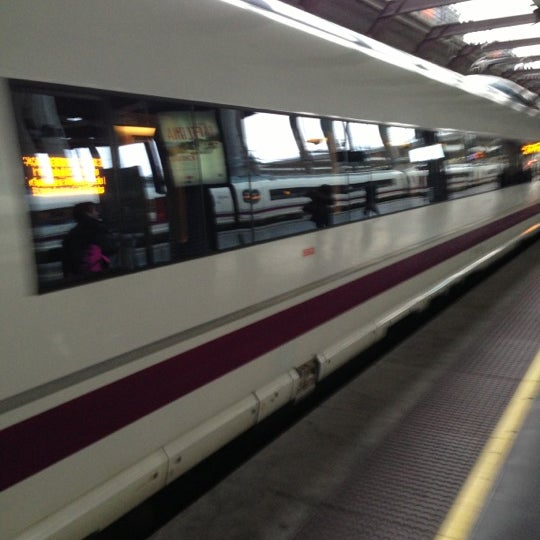Photo taken at AVE Madrid - Barcelona by Toni G. on 12/22/2012