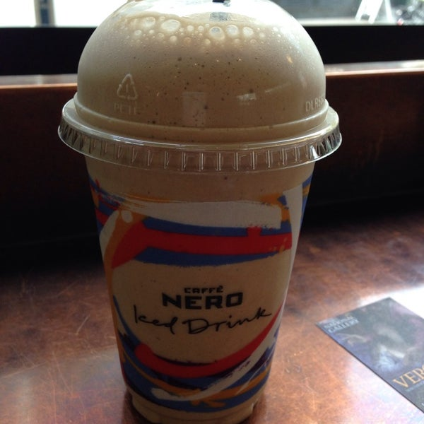 Photo taken at Caffè Nero by a on 4/23/2014