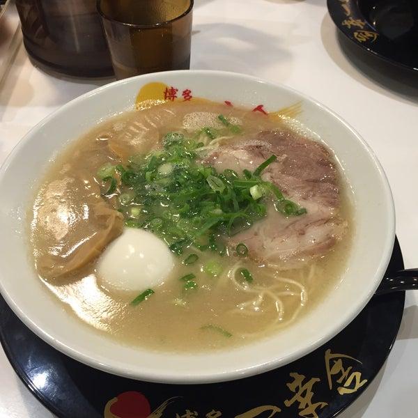 Photo taken at 博多 一幸舎 博多デイトス店 by Yoko K. on 4/14/2015