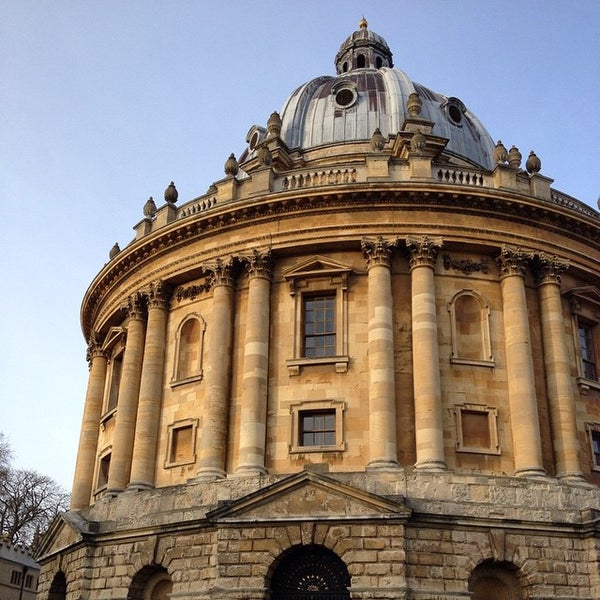 Photo taken at Radcliffe Camera by Iván F. on 12/16/2014
