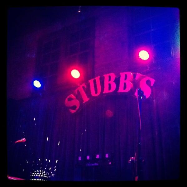 Photo taken at Stubb's Bar-B-Q by Sonia on 2/27/2013