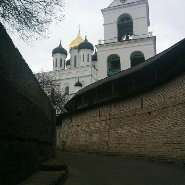 Photo taken at Псков / Pskov by Georgy G. on 4/8/2015