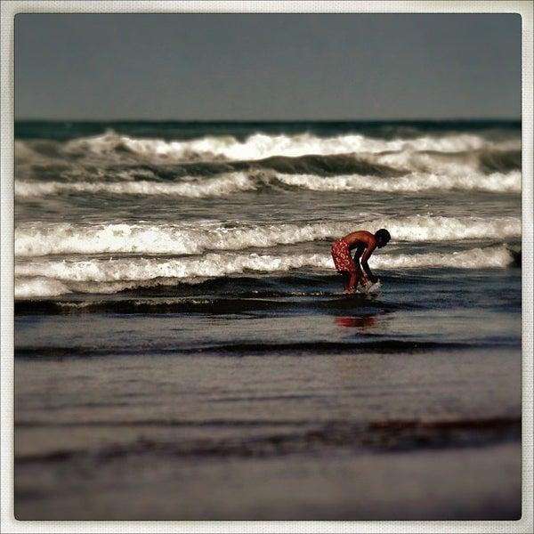 Photo taken at La Corniche de Casablanca by Chris K. on 12/13/2012