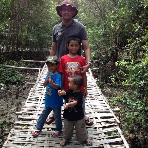 Photo taken at Ekowisata Mangrove by Anggit El P. on 2/16/2014