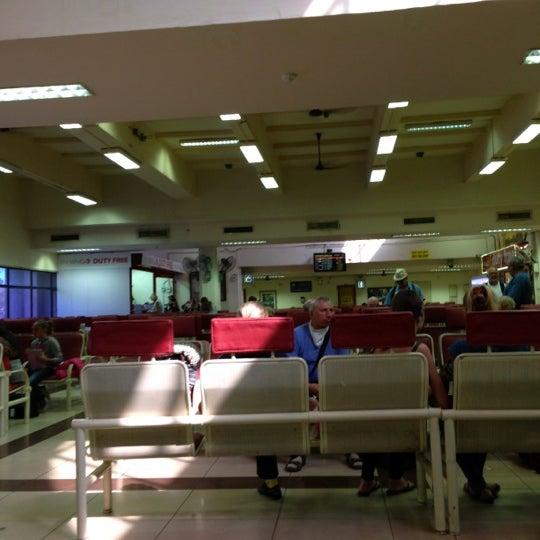 Photo taken at Dabolim Goa International Airport (GOI) by Ксения А. on 2/24/2013