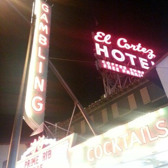 Photo taken at El Cortez Hotel & Casino by Avigdor - Realtor M. on 9/16/2012