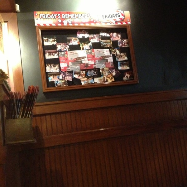 Photo taken at TGI Friday's by John A. on 12/21/2012