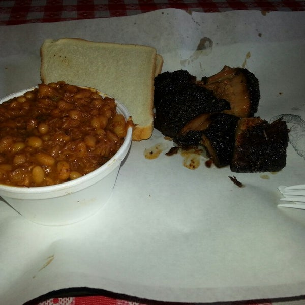 Photo taken at John Brown Smokehouse by Cenzo on 3/5/2014